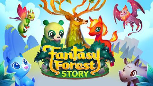 Fantasy forest story captura de tela 1