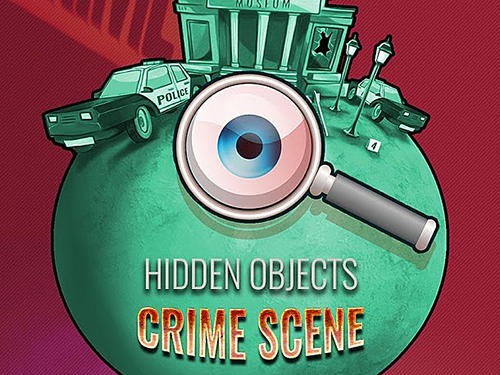 Hidden objects: Crime scene clean up game Screenshot