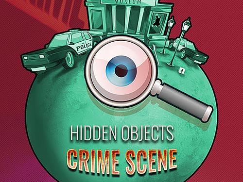 Hidden objects: Crime scene clean up game screenshot 1