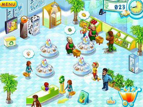 Screenshot Supermarkt Mania auf dem iPhone