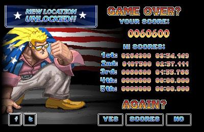 Juegos de arcade: descarga Puño imparable a tu teléfono