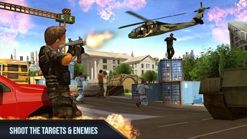 Air shooter 3D Screenshot