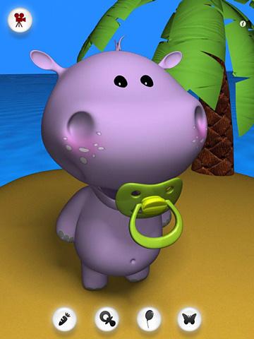 Jogos de arcade: faça o download de Bebê de hipopótamo falando para o seu telefone