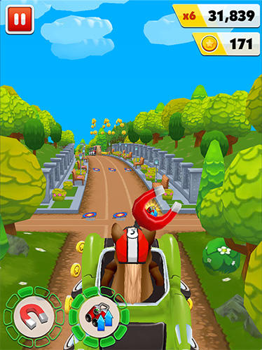 Pony craft unicorn car racing: Pony care girls Screenshot