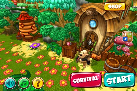 Экшен (Action) игры: Angry bear на телефон iOS