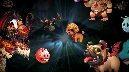 Summoners and puzzles Screenshot