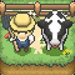Tiny pixel farm icon