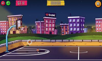 Sportspiele iBasket für das Smartphone