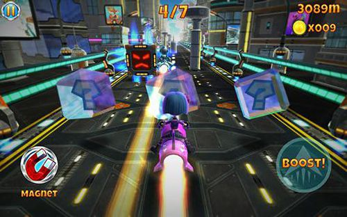 Arcade-Spiele: Lade Raketenraser auf dein Handy herunter