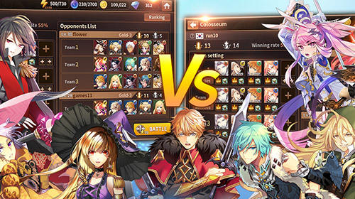 RPG Battle of souls pour smartphone
