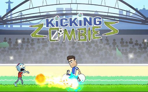 Kicking zombies Symbol
