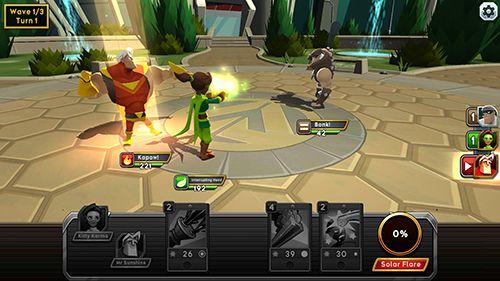 RPG-Spiele: Lade Helden der Kampfhand auf dein Handy herunter