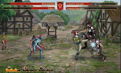 Clash of the Damned captura de tela 1