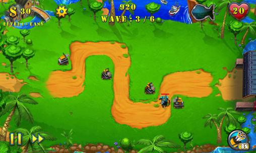 Field defense: Tower defense evolution скриншот 1