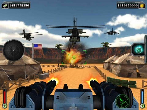 Plane shooter 3D: War game para Android