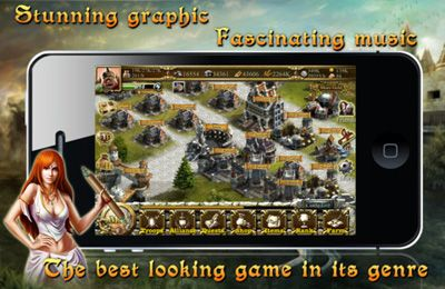 Strategy games: download Throne on Fire to your phone