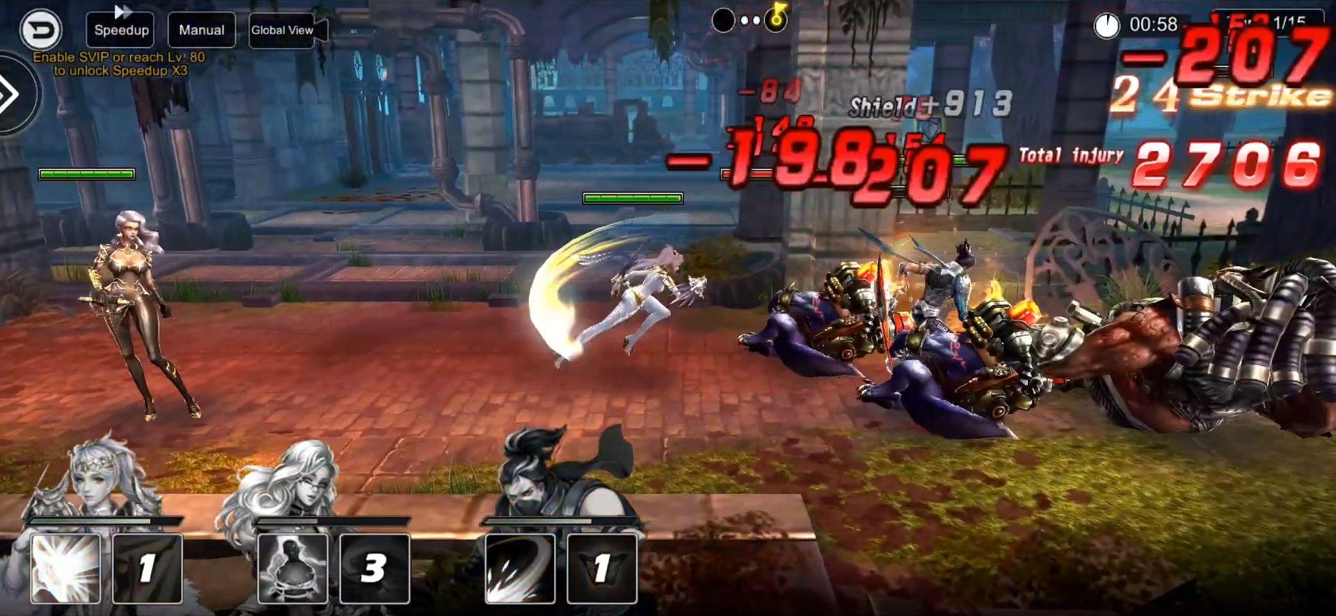 Deity Arena Mobile captura de pantalla 1
