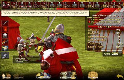 Kampfspiele: Lade Großartige Schlachten des Mittelalters auf dein Handy herunter