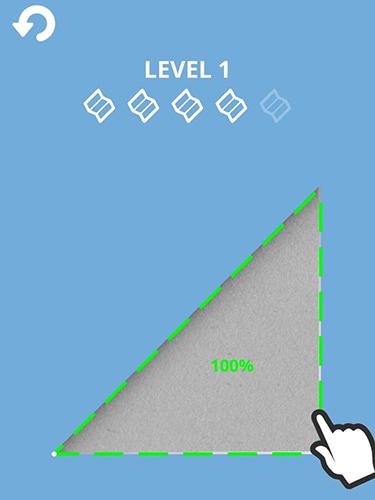 Logikspiele Origame für das Smartphone