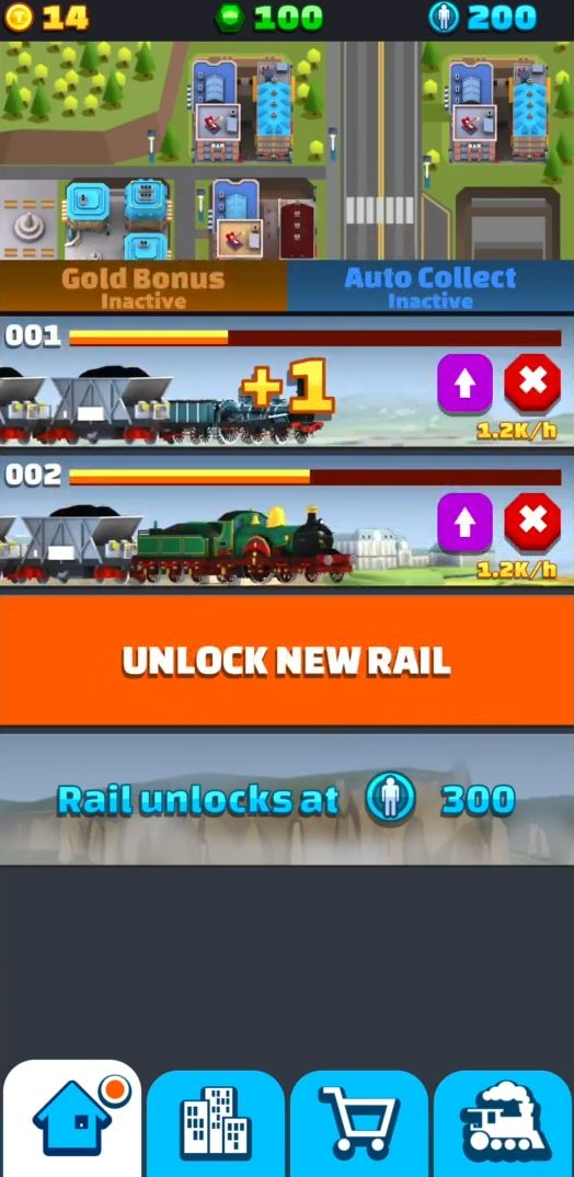 Train Collector: Idle Tycoon para Android
