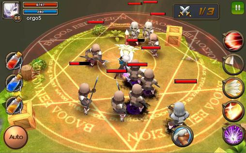 RPG Darklord tales for smartphone
