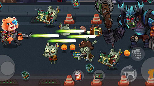 Bear gunner: Zombie shooter for Android