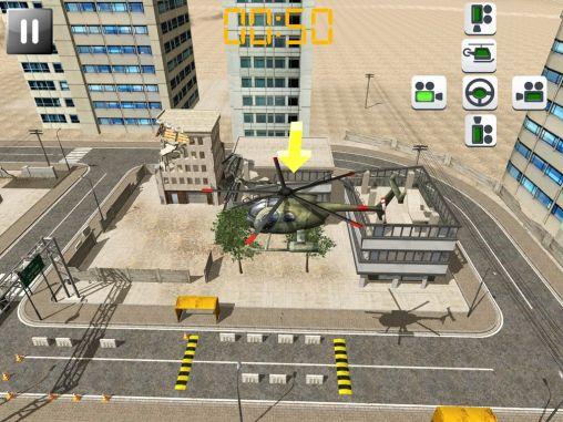 Helicopter rescue pilot 3D auf Deutsch