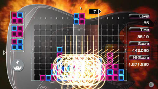 Lumines screenshot 2