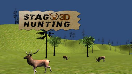 Stag hunting 3D capture d'écran 1