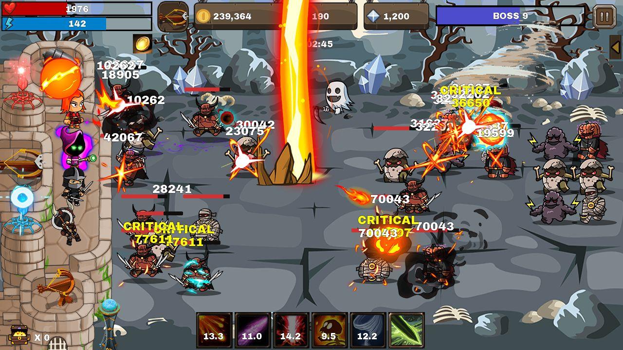 Final Castle : Grow Castle скріншот 1