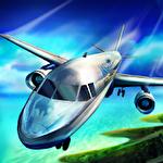 Real pilot flight simulator 3D Symbol