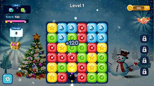 Holiday games Color crush 2019: New matching puzzle adventure in English