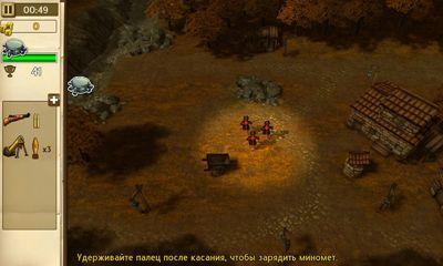 Echtzeit-Strategien Hills of Glory 3D auf Deutsch
