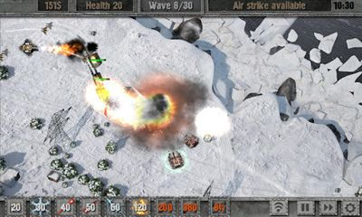 Strategiespiele Defense Zone 2 für das Smartphone