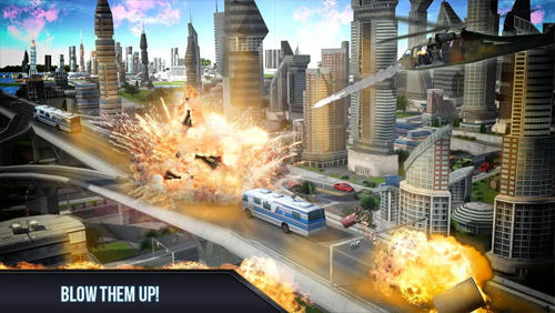 Shooting Air shooter 3D in English