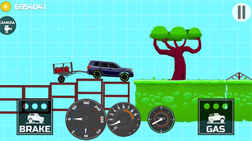 Physikspiele Elastic car 2 auf Deutsch