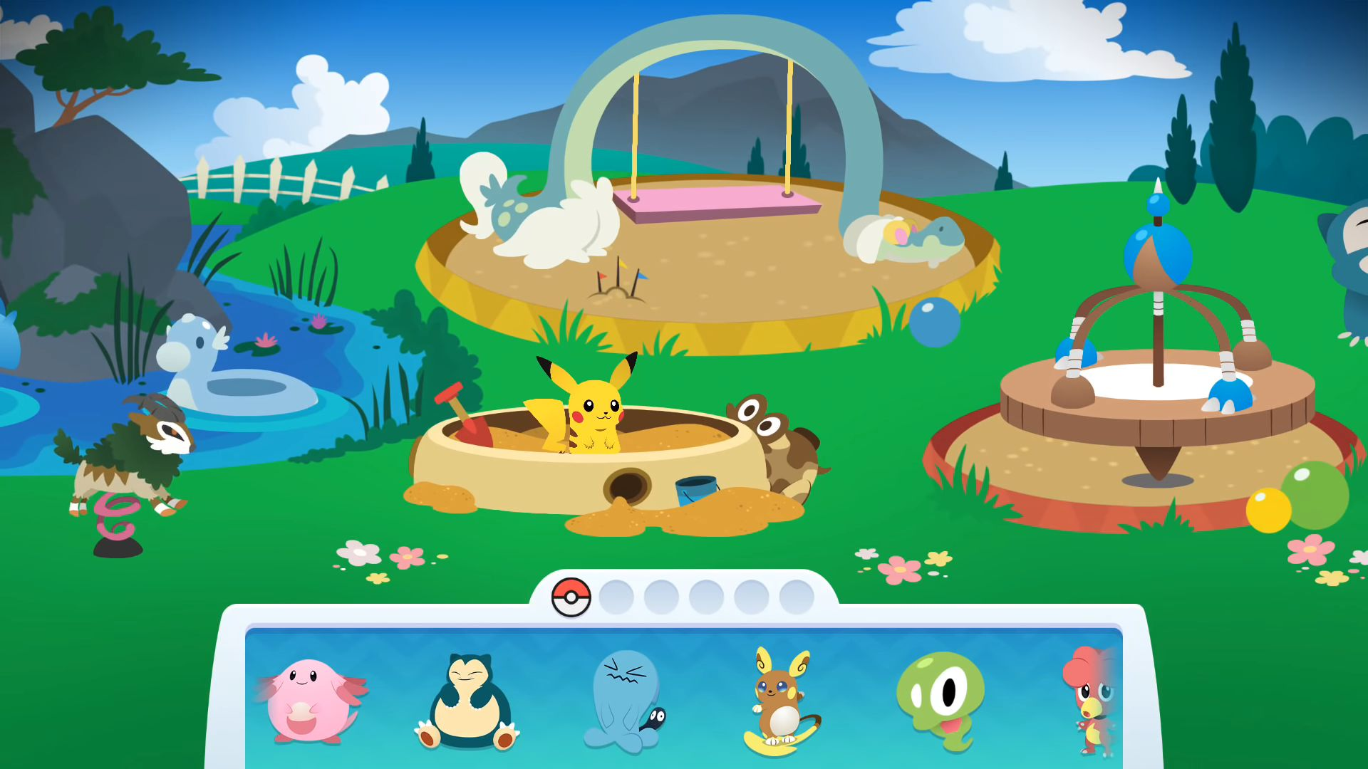 Pokémon Playhouse for Android