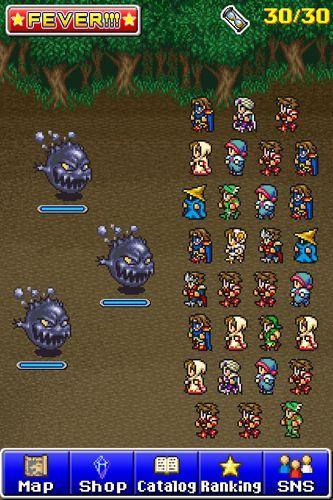 Screenshot Final Fantasy: Die Tapfersten auf dem iPhone