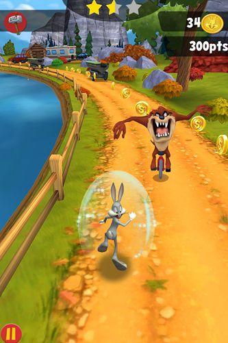 Screenshot Looney Tunes Dash! auf dem iPhone