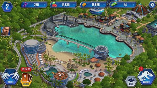 Simulation games: download Jurassic world: The game to your phone