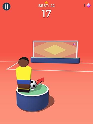 Zeitkiller Pop it! Soccer auf Deutsch