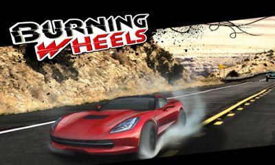 logo Brennende Räder 3D Rennen