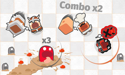 Arcade Smashers.io: Foes in worms land for smartphone