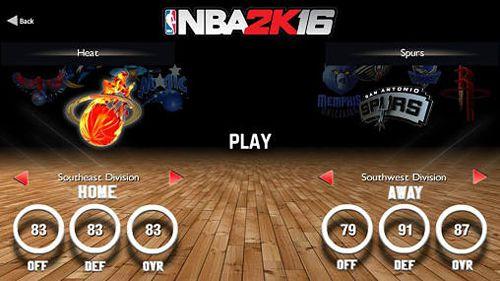 Спортивные игры НБА 2К16