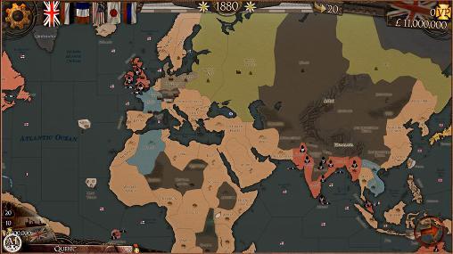 Strategiespiele Colonial conquest für das Smartphone