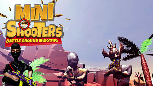 Mini shooters: Battleground shooting game screenshot 1