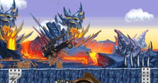 Monster car: Hill racer für Android