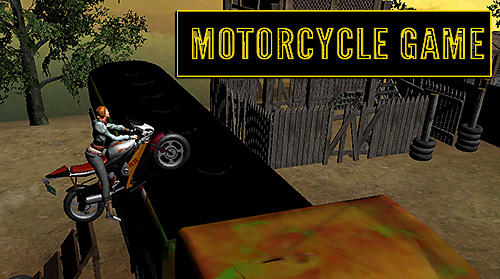 Motorcycle game icon