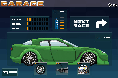 Arcade-Spiele: Lade 8 Bit Rally auf dein Handy herunter