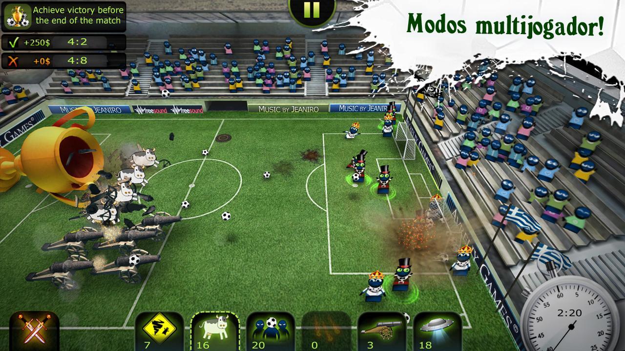 FootLOL: Crazy Soccer! Action Football game para Android